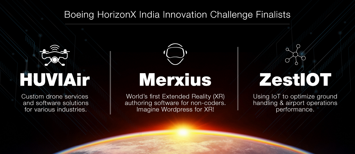 Boeing HorizonX India Innovation Challenge Finalists