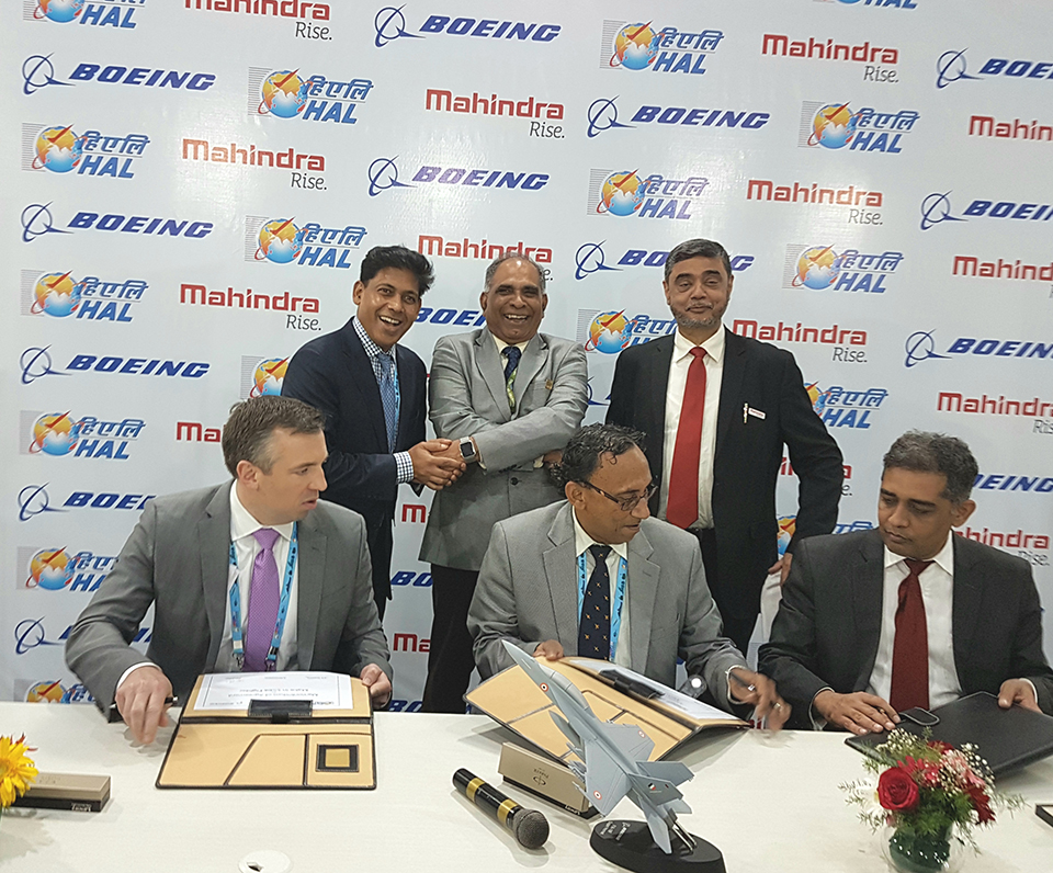 Boeing: Boeing India - News Release